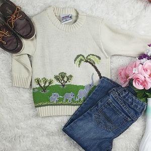 Elephant cute sweater